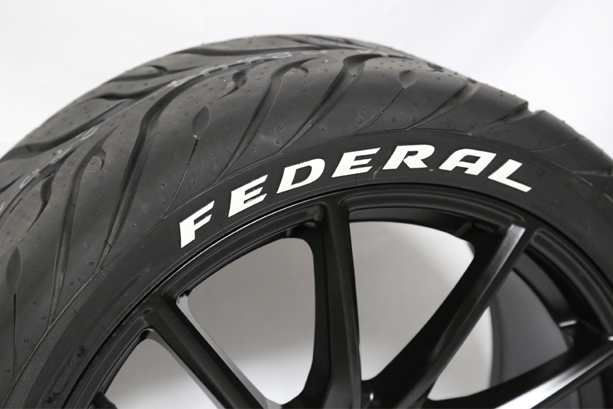 Federal Tire | TIRE STICKERS