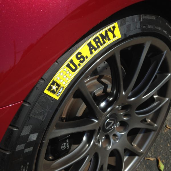 US ARMY - Tire Stickers