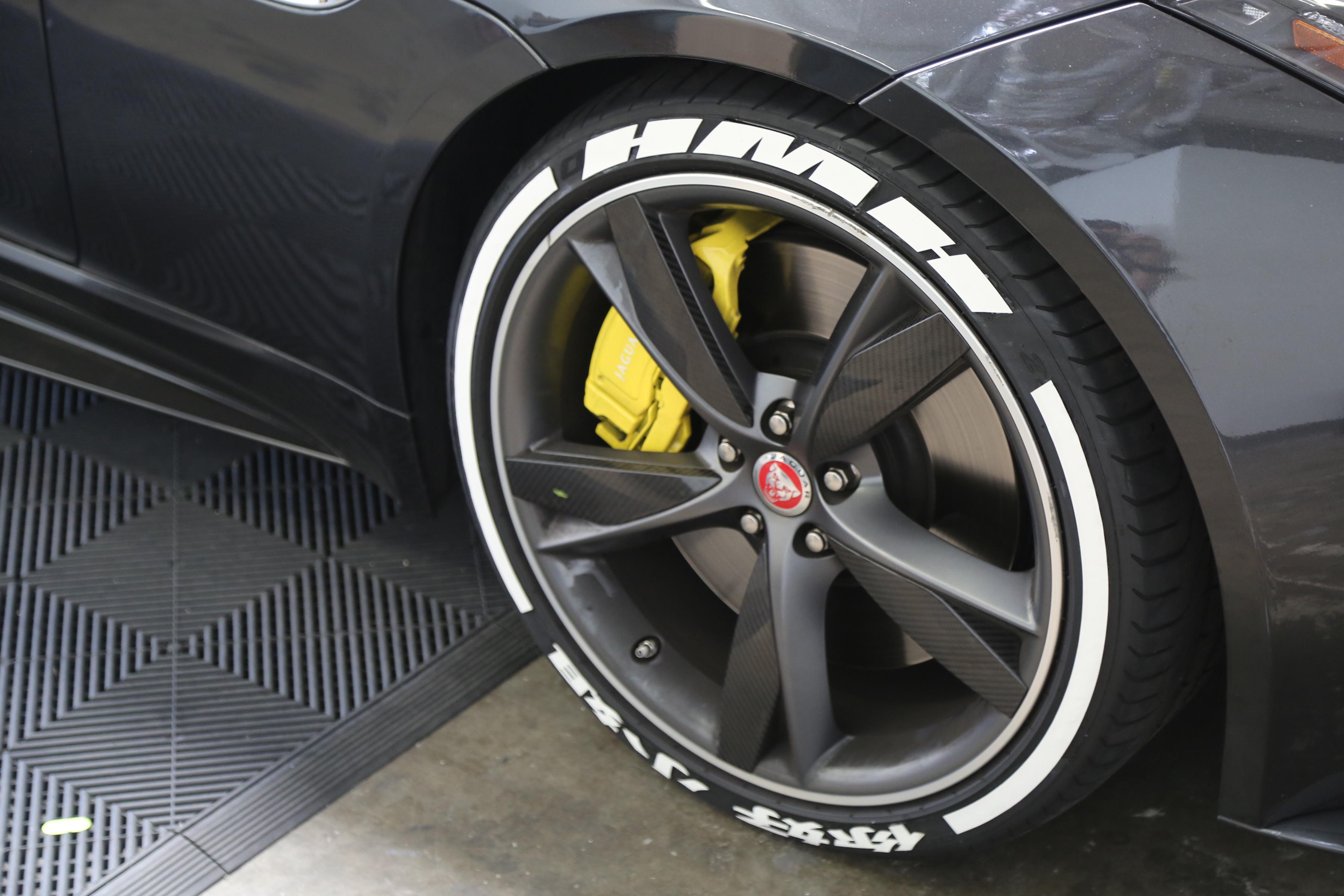 Custom tire stickers