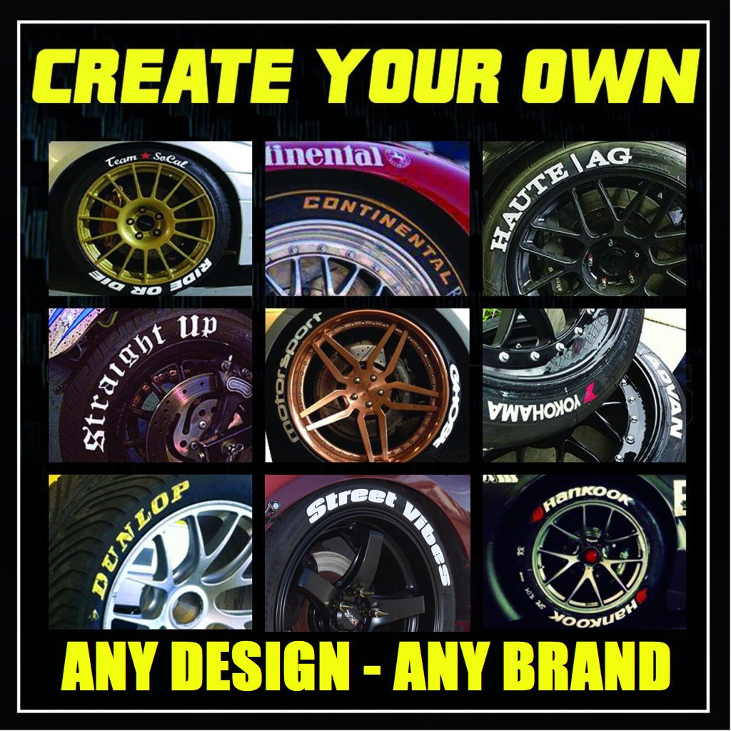 Create Your Own Tire Stickers Wiring Harness Decal Starter Omc Dodge