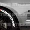 Hankook Tire Logo - Tire Stickers