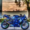 Street Bike - Green Tire Lettering