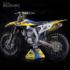 Yellow pirelli tire decals dirtbike tires moto 250f 450f