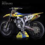 Yellow pirelli tire decals dirtbike tires moto 250f 450f
