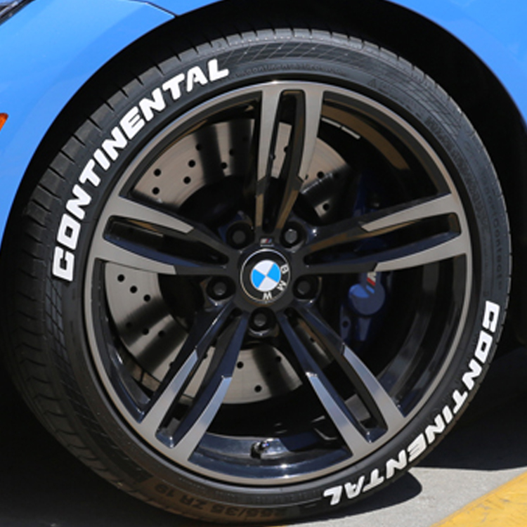 Continental Tire Stickers >> Continental Close Up Tire Stickers Square Amazon Tire Stickers Com
