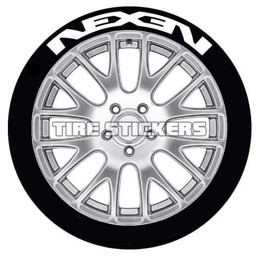Nexen-Tire-Logo-Tire-Stickers-white-4