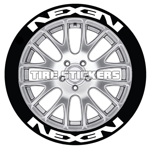 Nexen-Tire-Logo-Tire-Stickers-white-8