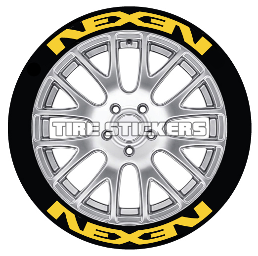 White Tire Paint >> NEXEN Tire Logo | TIRE STICKERS | OFFICIAL TIRE LETTERING