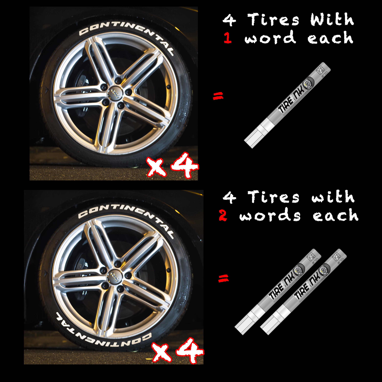 Tire Paint Pens Tire Stickers Com