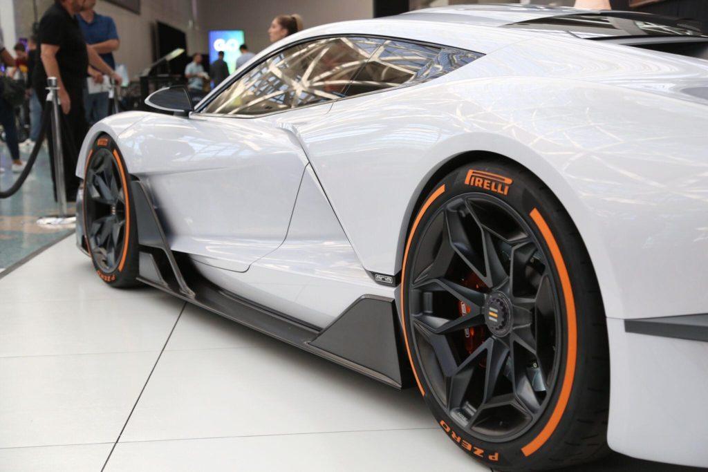 Tire Stickers Rolls Through The LA Auto Show - Car show stickers