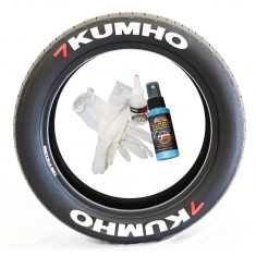 Kumho Tire Stickers - 8 decals