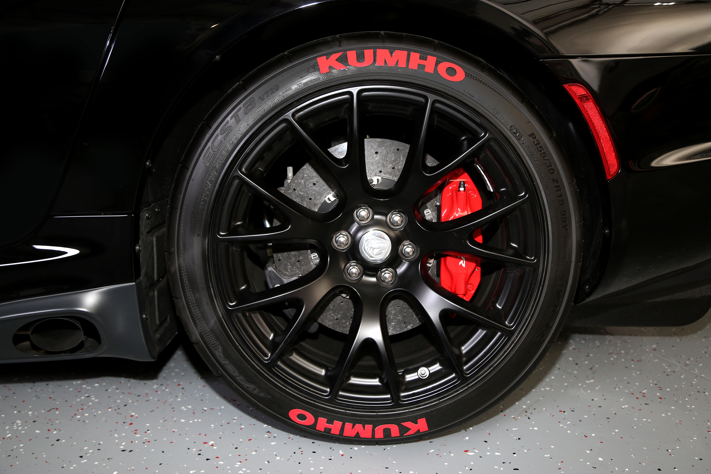 Kumho Tire Lettering Tire Stickers