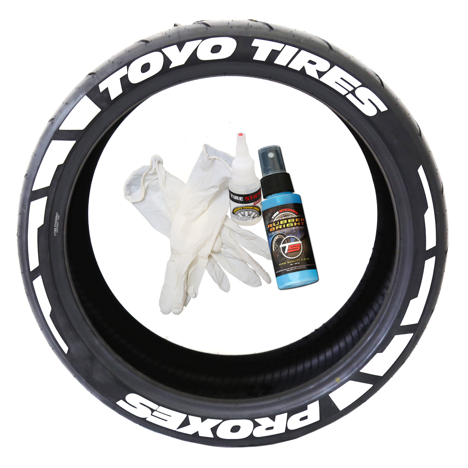 Toyo Tires White Letters >> Toyo Tires Proxes - Frost Edition Tire Lettering