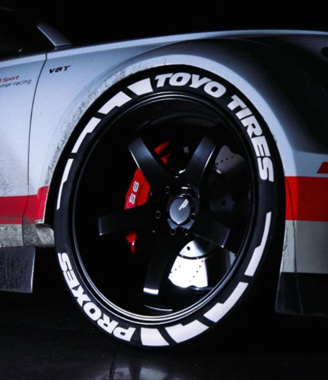 Toyo Tires Proxes - Frost Edition Tire Lettering