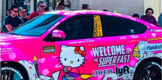 Pink Uber - BWM