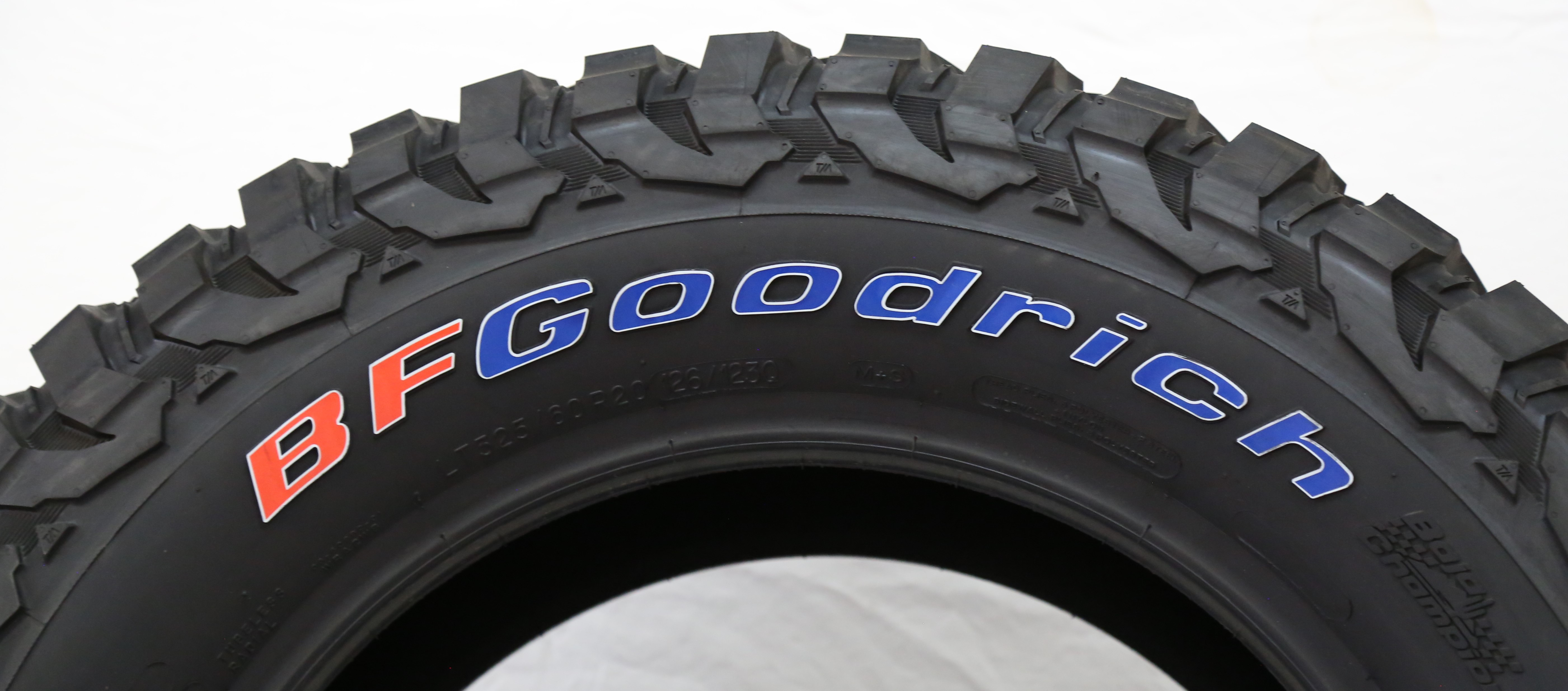 Official BFGoodrich Tire Letters   TIRE STICKERS .COM