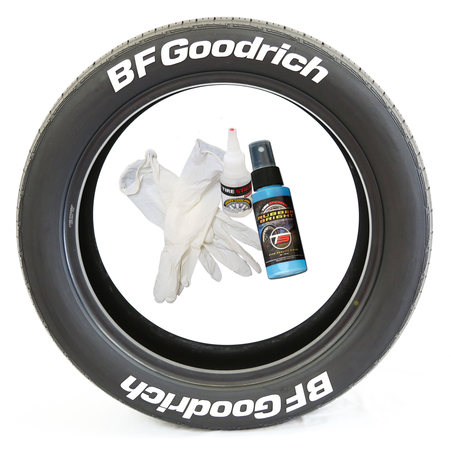 Bf Goodrich At >> Bf Goodrich Tire Lettering Tire Stickers
