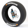 Hankook Tire Stickers - White Tire Lettering with Orange Logo