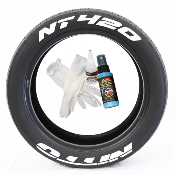 Nitto NT420 Tire Stickers