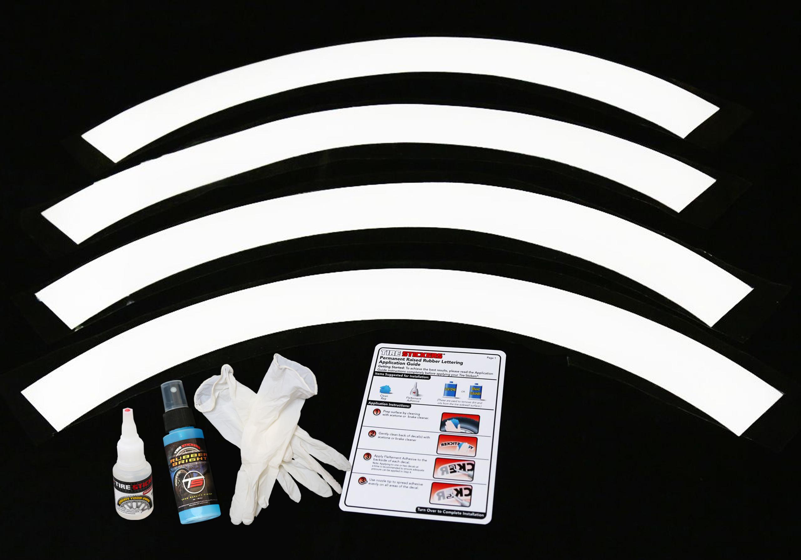 WHITE-wall-tyres-tire-stickers-ki2t | TIRE STICKERS .COM