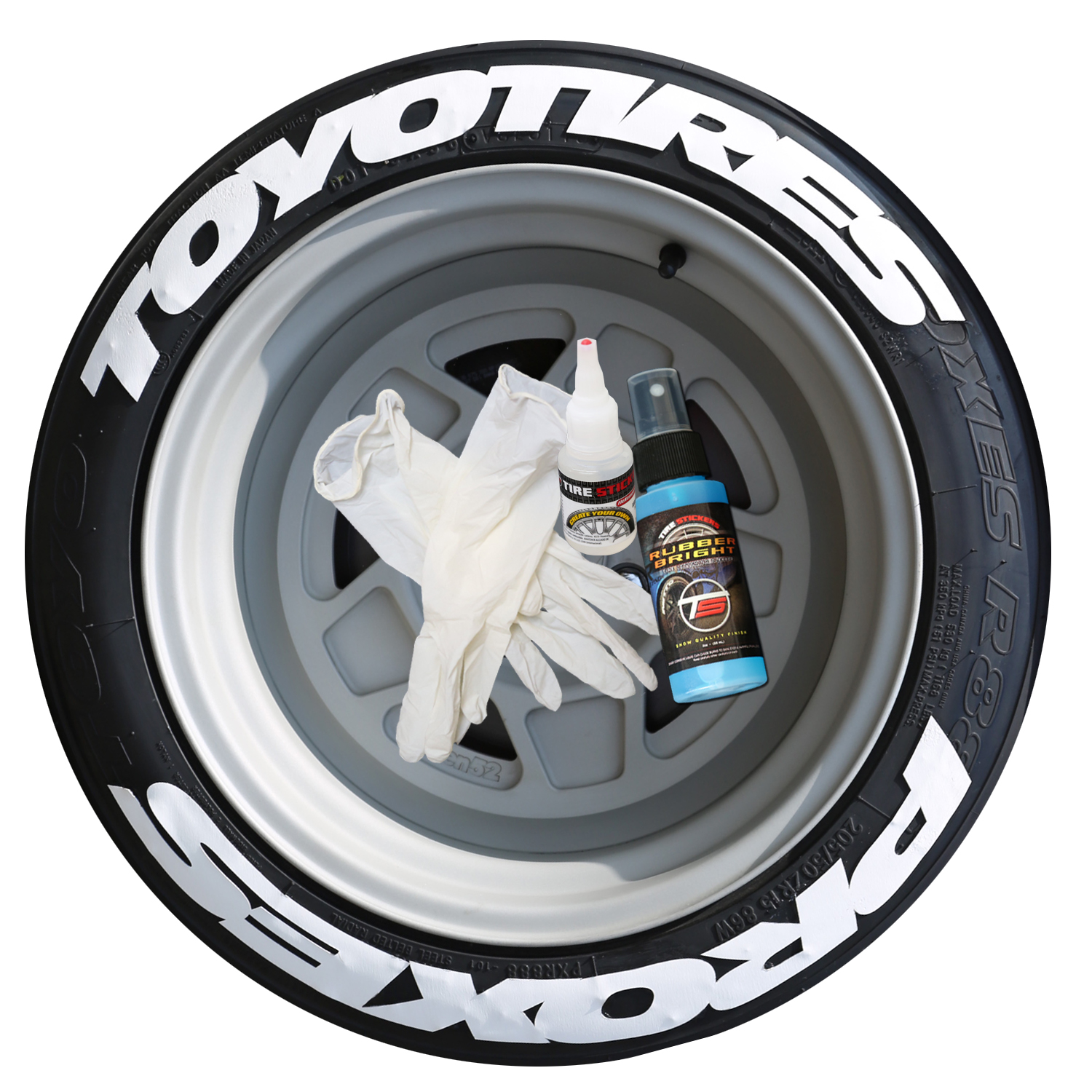 Toyo Tires White Letters >> Toyo Tires Proxes – Stretched Tire Lettering | TIRE STICKERS