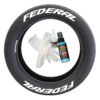 Federal Tires - Tire Stickers - 8 Decals - Front