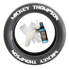 Mickey Thompson 8 decals - Tire Stickers