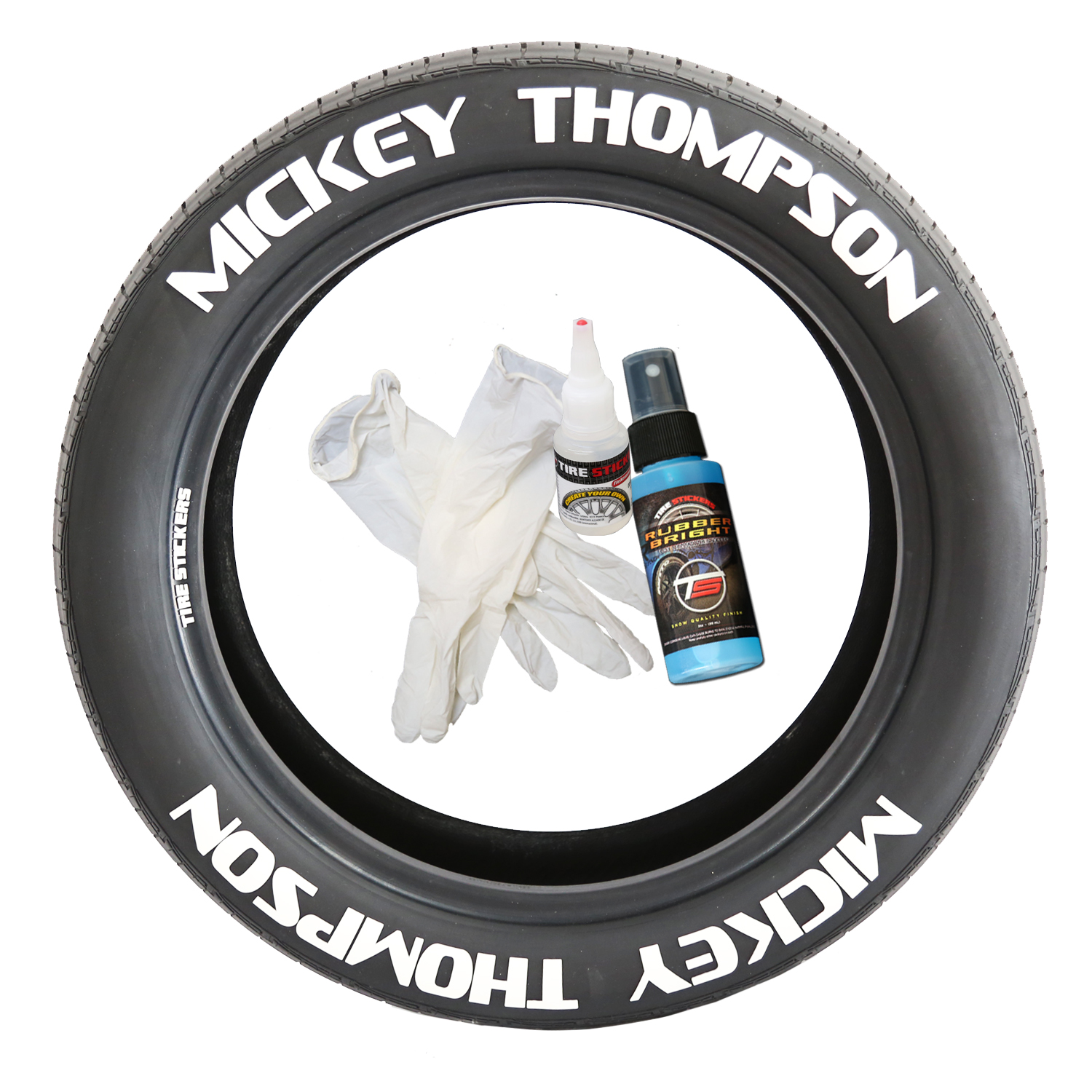 Mickey Thompson Tire Lettering | TIRE STICKERS