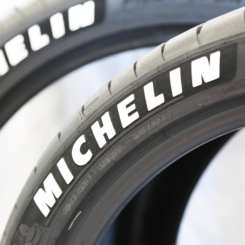 Michelin Pilot Sport 4s White Letter Tire Tire Stickers Com