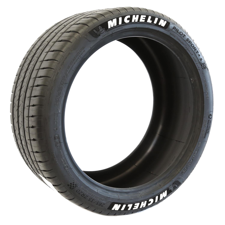 Michelin Pilot Sport >> Michelin Pilot Sport 4s White Letter Tire Tire Stickers Com