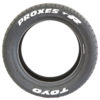 Toyo Proxes T1R - Pre-Lettered Tire with Permanent White Tire Stickers - Front1