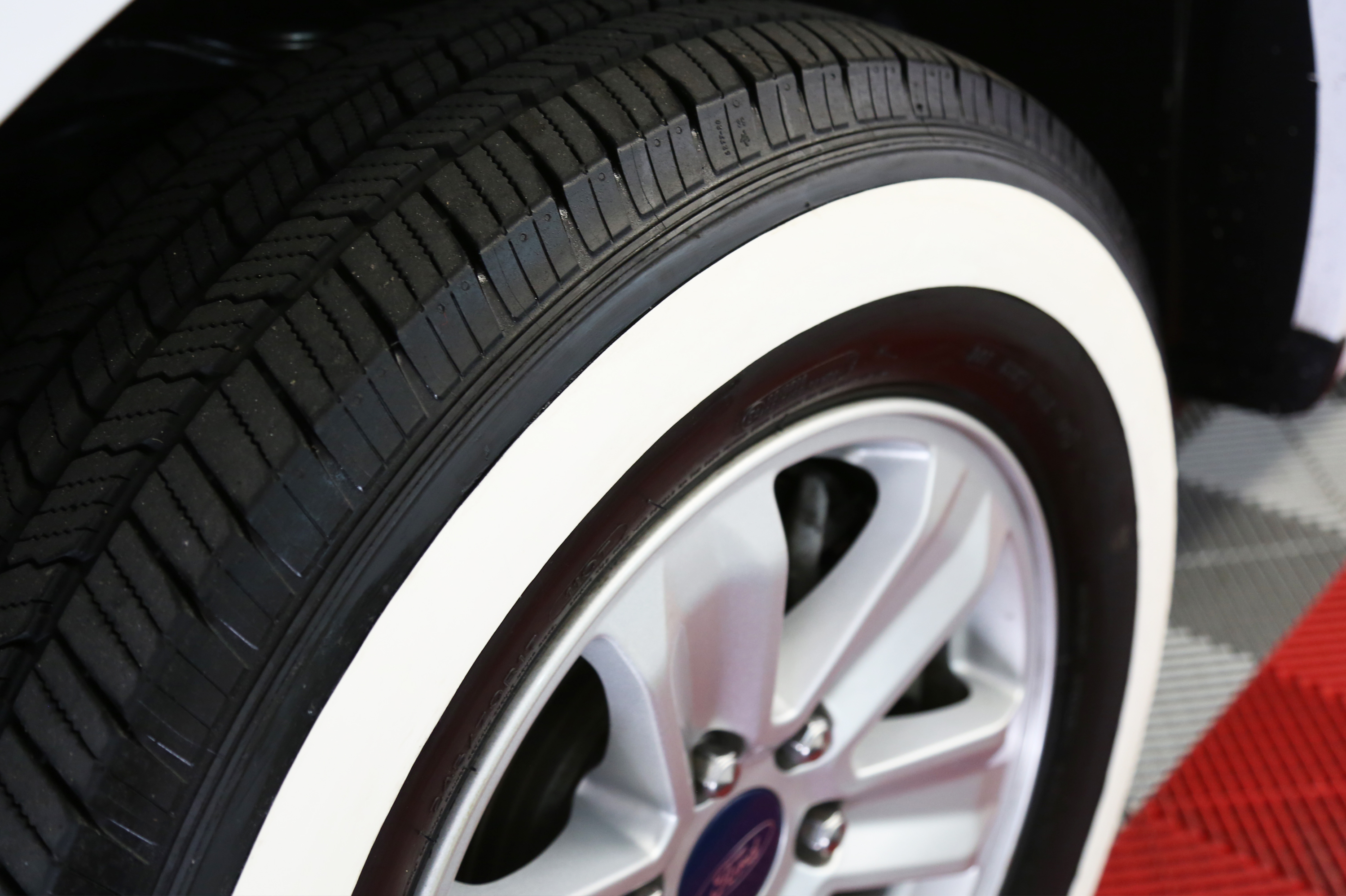 White Wall For Any Tire Tire Stickers