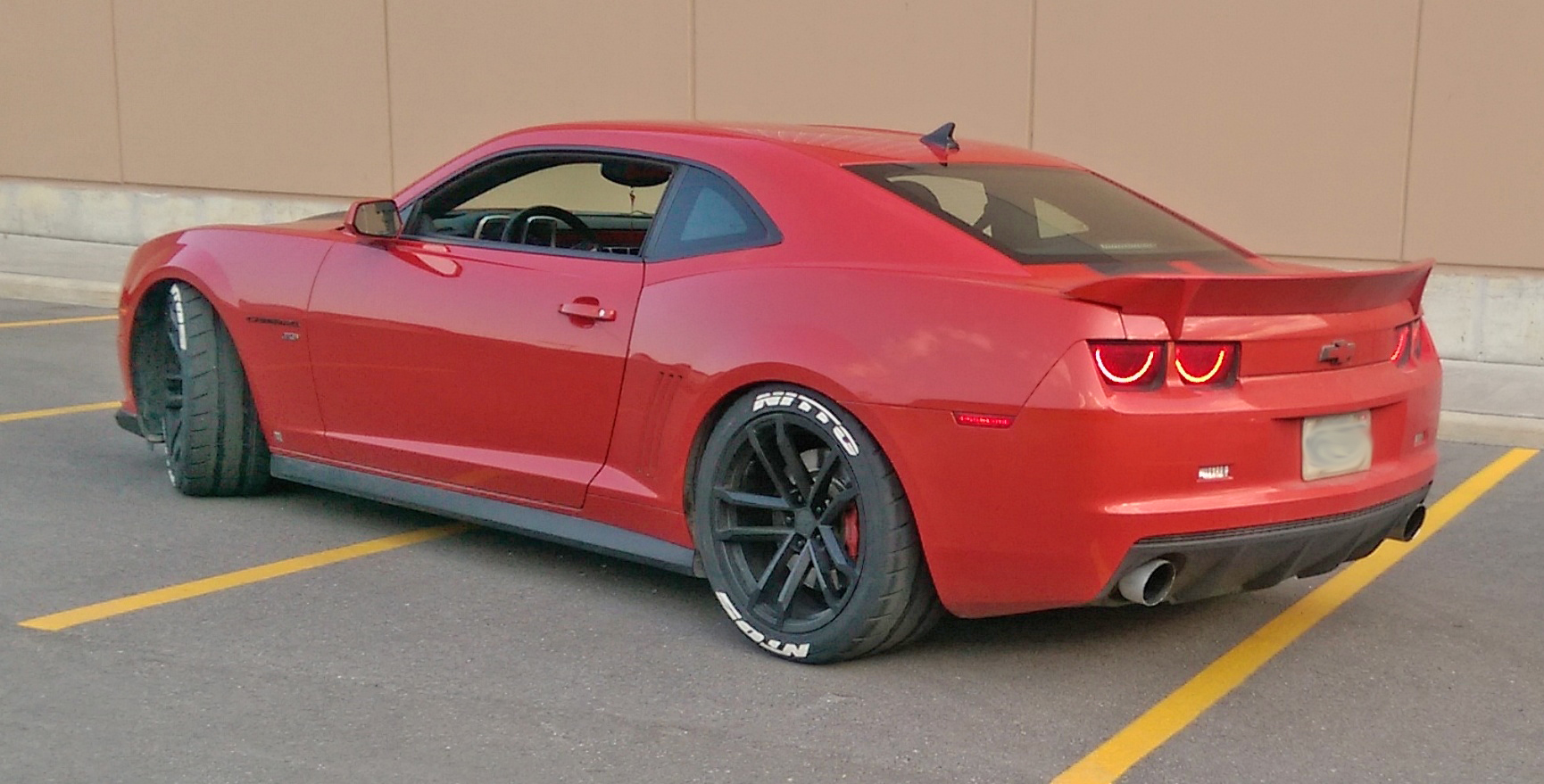 Nitto Tires With White Lettering >> Nitto Nt05 Camaro With Tire Stickers White Lettering Tire