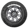 Hummer Tire Stickers - White - 4 Stickers