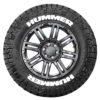 Hummer Tire Stickers - White - 8 Stickers