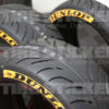 Dunlop Logo On Tire Sidewall - Tire Stickers