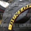 Dunlop Tire Stickers For MX Bikes