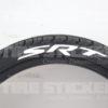 SRT-tire lettering