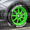 michelin tire stickers-white